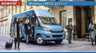 OGÓLNOPOLSKA PREMIERA  IVECO Daily E6 Minibus 22+1+1 - JUŻ ZA NAMI!!!