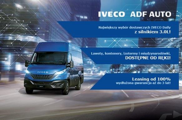 IVECO Daily z Silnikiem 3.0L dostępne OD RĘKI!